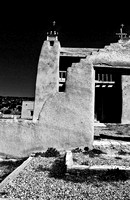 New Mexico Old Settlements in Black and White