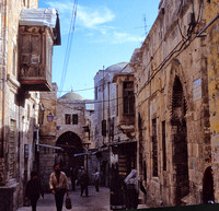 Street Scene in Old Jerusalem