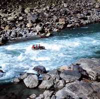 Rafting Down the Sun Kosi River