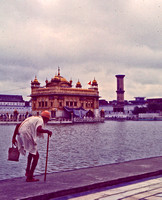 At the Golden Temple, Amritsar