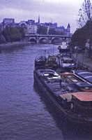 Tugboats Along the Seine