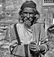 Holy Man at Bugmati River