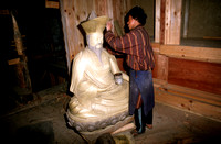 Sculpting a Buddha Manifestation