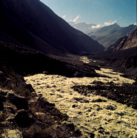 Stream Flowing from Annpurna Range