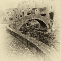 Arched Bridge, Agua di Dulci, Liguria