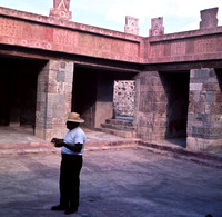 Inner Courtyard with Guide