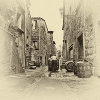 Wine Presses and Barrels, Victorchiano
